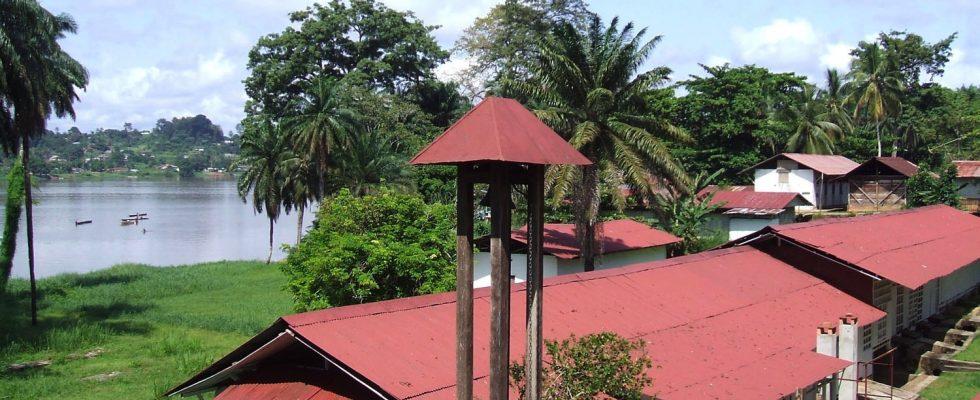 Gabon - země, kde působil Albert Schweitzer 1