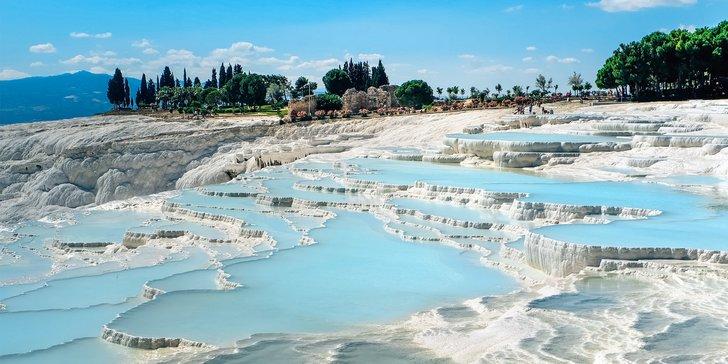 Hlavní atrakce tureckého Pamukkale a Hierapole 1