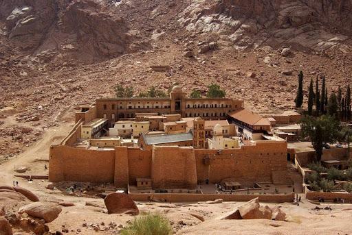 Sinajský poloostrov a Rudé moře 1