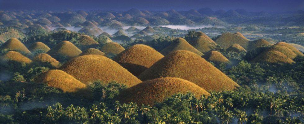 Čokoládové kopce na Boholu, Filipíny 1