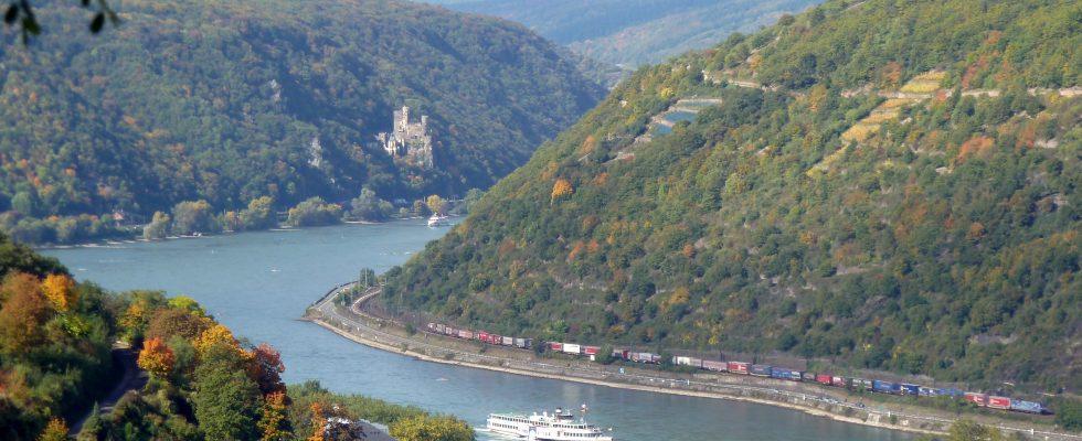 Hlavní atrakce údolí Rýna 1