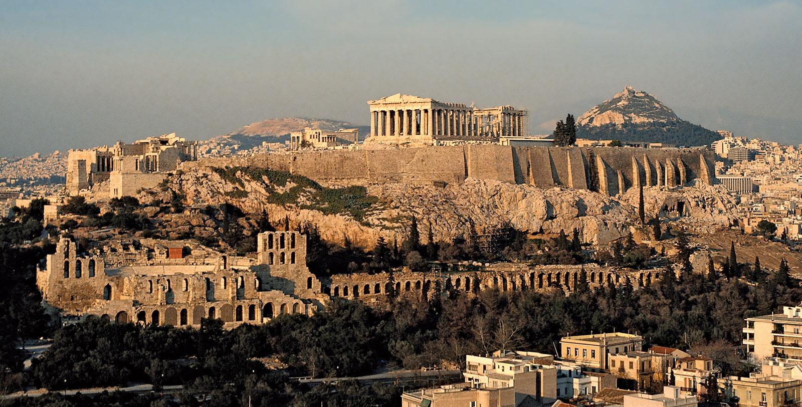 Návštěva athénské Akropole 1