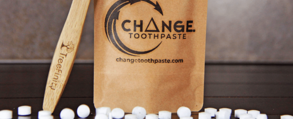 Change Toothpaste - zubní pasta v tabletách 1
