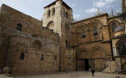 Chrám Božího hrobu v Jeruzalémě 1