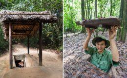Tunely Cu Chi a demilitarizovaná zóna ve Vietnamu 9
