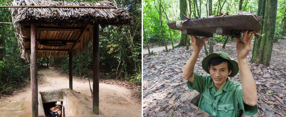 Tunely Cu Chi a demilitarizovaná zóna ve Vietnamu 1