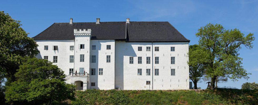 Strašidelný hrad Dragsholm v Dánsku 1