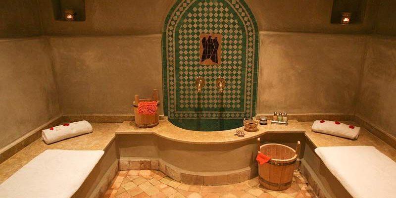 Lázně hammam v Marrákéši 1