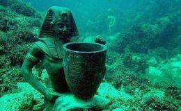 Potopený egyptský Herakleion vydává archeologické poklady 4