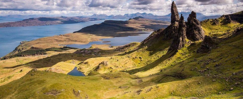 Isle of Skye a Vnější Hebridy, Skotsko 1