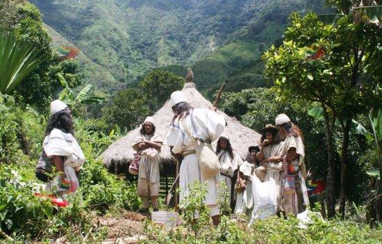 Návštěva domorodé Kolumbie 1