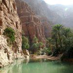 Vádí v Ománu – vertikální pouště 3