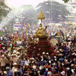 Festival Songkran v Chiang Mai 3