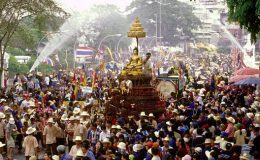 Festival Songkran v Chiang Mai 2