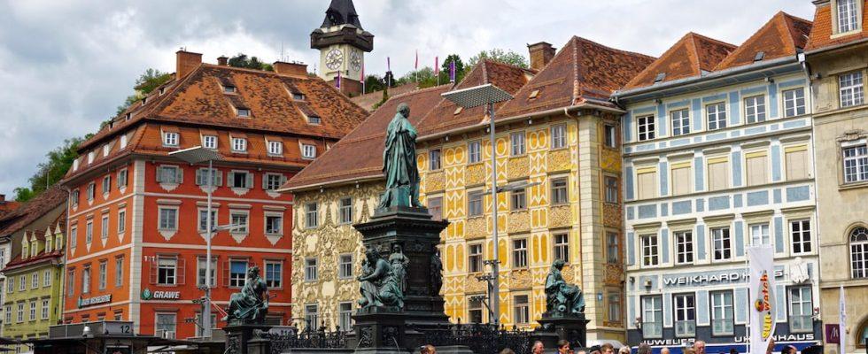 Štýrský Hradec, jeho atrakce a tipy na výlety do okolí 1
