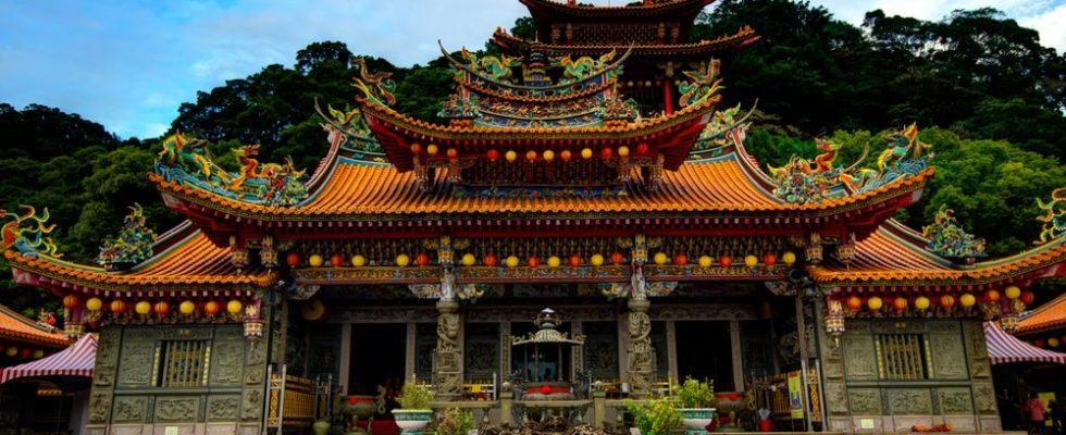 Chrámy na Taiwanu 1