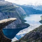 Fotogenická Trolltunga v Norsku 5