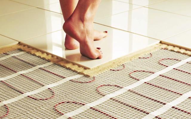 Jak funguje vyhřívaná podlaha 1