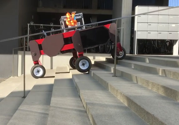 UV dezinfekční robot pro kanceláře a komerční prostory 30