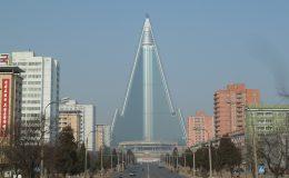 Architektura v Pchjongjangu 7