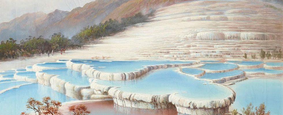 Bílé terasy - ztracený přírodní div Nového Zélandu 1