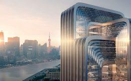 Architekti plánují nejzelenější budovu Šanghaje 10