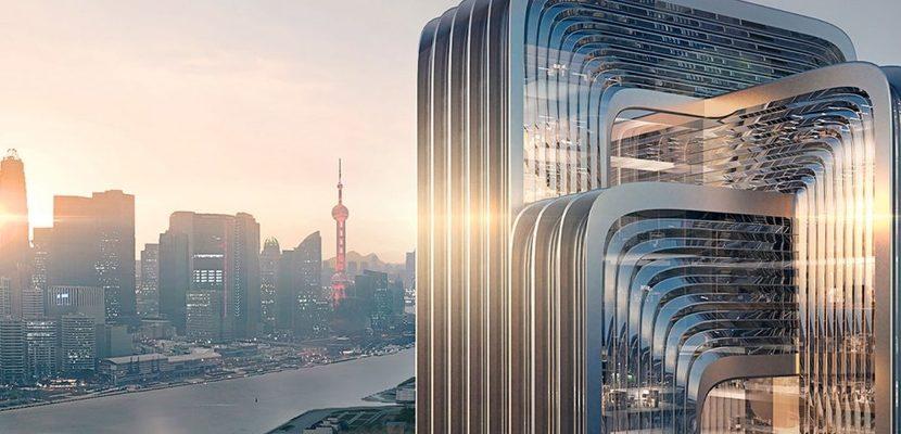 Architekti plánují nejzelenější budovu Šanghaje 1