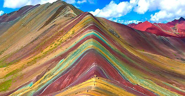 Výstup na Duhovou horu v Peru 1