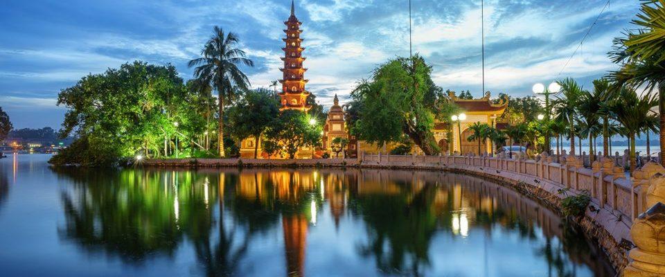 Hanoj: atrakce města 1