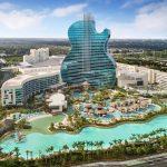 Řetězec Hard Rock Café otevřel na Floridě hotel ve tvaru kytary 2