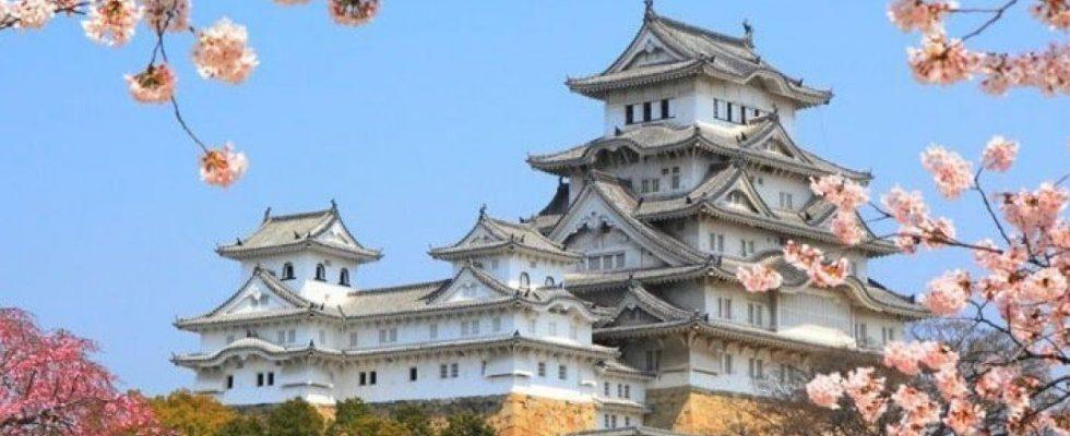 Hrad Himedži v Japonsku 1