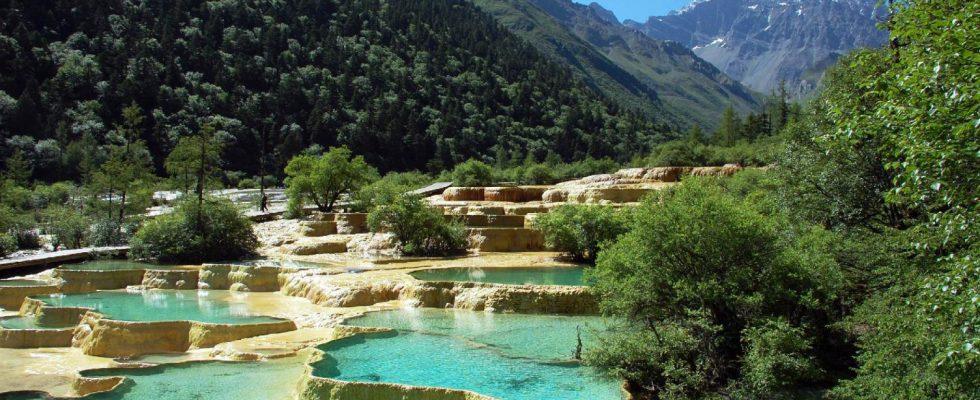 Úžasná vápencová rezervace Chuang-lung v Číně 1