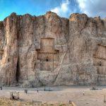 Majestání skalní hrobky achaimenovských králů Persie 4