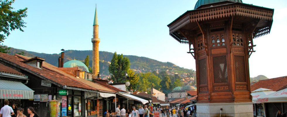 Co dělat a na co se podívat v Sarajevu 1