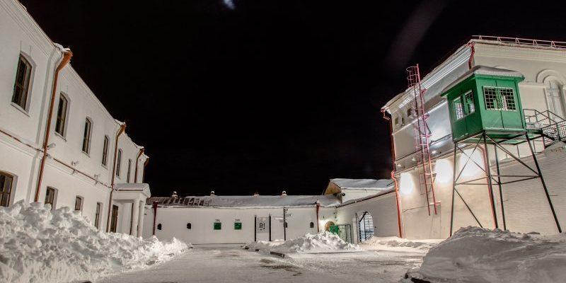 Prohlídka nechvalně známého vězení na Sibiři 1