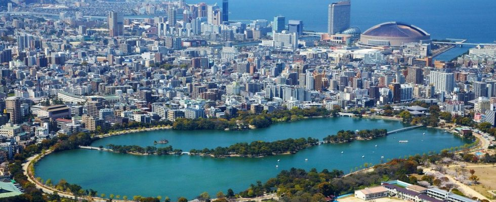 Hlavní atrakce japonského města Fukuoka 1