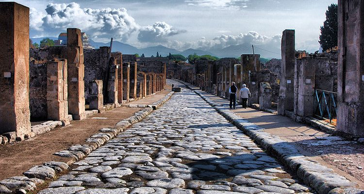 Kampánie a Pompeje 1