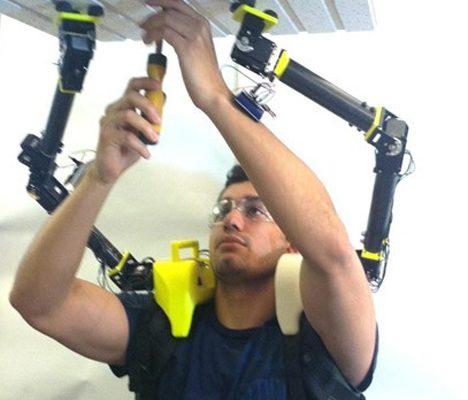 Robotická třetí ruka 1