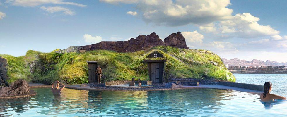 Na Islandu budují geotermální lagunu 1