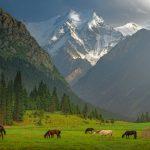 Pěší turistika v pohoří Ťan-Šan v Kyrgyzstánu 4
