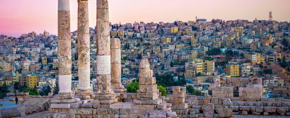 Ammán – metropole Jordánska 1
