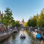 Zážitky na kanálech v Amsterdamu 2