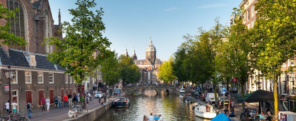 Zážitky na kanálech v Amsterdamu 1