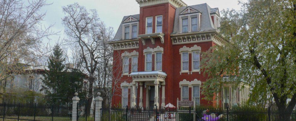 Skutečně strašidelné domy v Americe 1