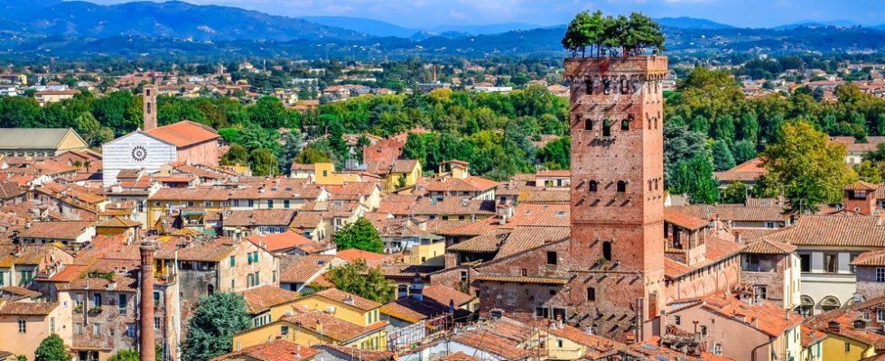 Jednodenní návštěva města Lucca 1