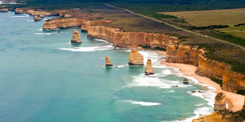 Hlavní přírodní divy Austrálie 1