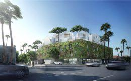 Gardenhouse – čínský architektonický projekt v Beverly Hills 5