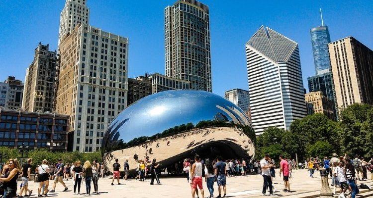 Hlavní atrakce Chicaga, USA 1