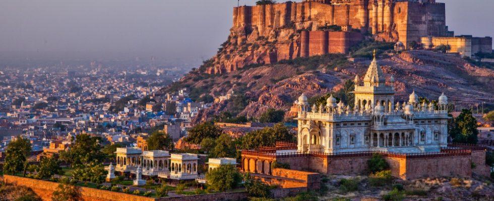 Slavné pevnosti a paláce v Indii 1