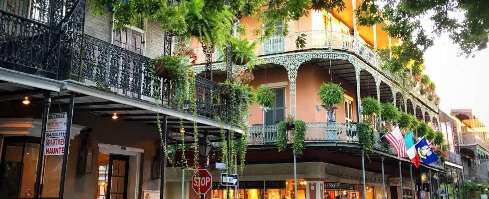 New Orleans na americkém Jihu 1